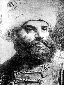 Een portret van de man naar wie Roodbaard vernoemd is